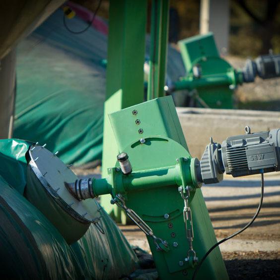 Installation biogaz
